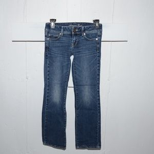 American eagle original boot womens jeans sz 2 S